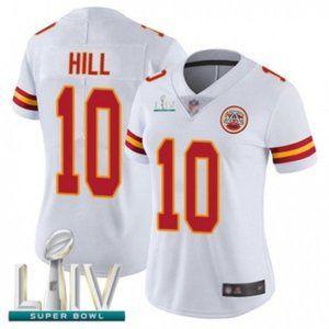 Women Chiefs Tyreek Hill Super Bowl LIV Jersey